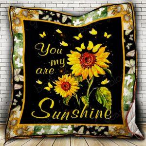 My Husband – Always My Sunshine Quilt Blanket