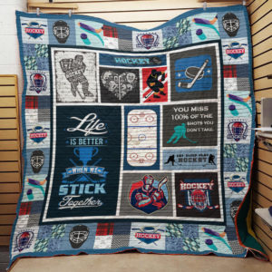 Hockey Quilt Blanket