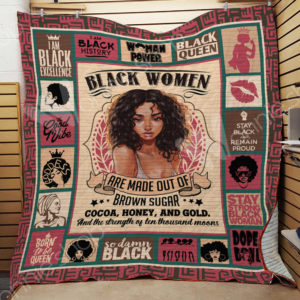Black Women I Am Black Excellence Quilt Blanket Great Customized Gifts For Birthday Christmas Thanksgiving Perfect Gifts For Black Daughter Girlfriend Wife