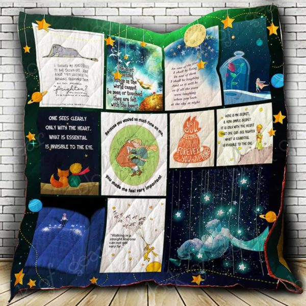 My Little Prince Quilt Blanket
