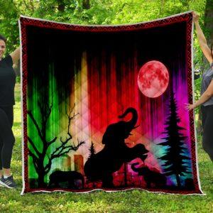 Elephant Premium Quilt Blanket