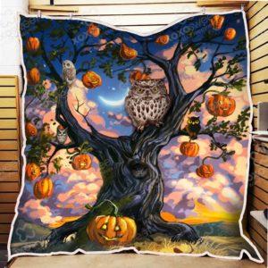 Halloween Quilt Blanket