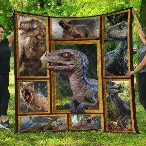 Wonderfull Dinosaur Quilt Blanket