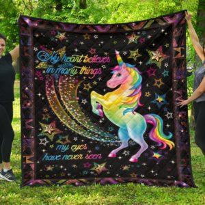 Believe In Magic – Quilt Blanket