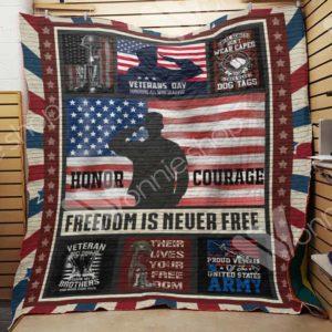 Veteran Quilt Blanket