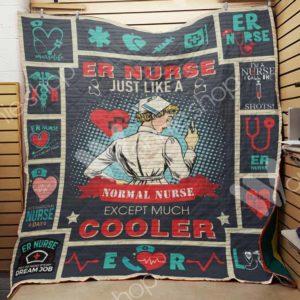 Nurse Quilt Blanket
