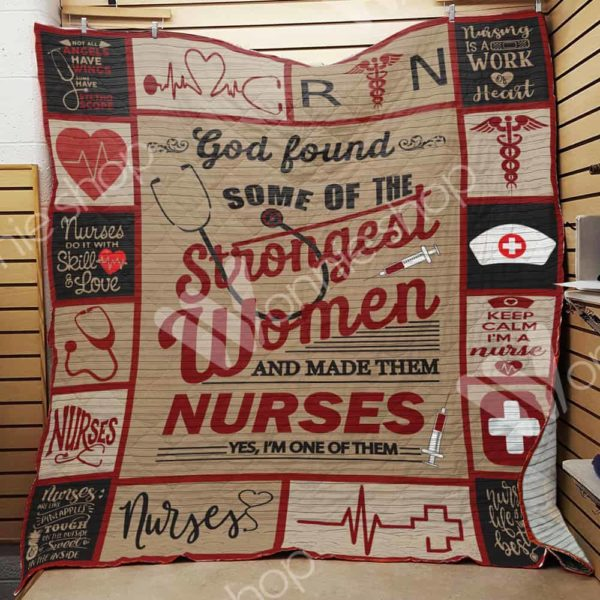 Nurses Do It With Skill Of Love Quilt Blanket Great Customized Gifts For Birthday Christmas Thanksgiving Perfect Gifts For Nurse