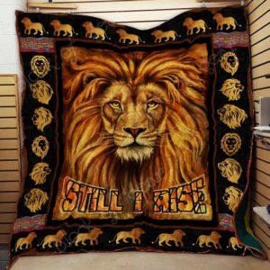 Lion Quilt Blanket