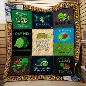 Baby Turtle Quilt Blanket