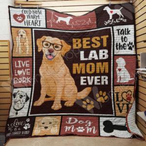 Labrador Retriever Quilt Blanket