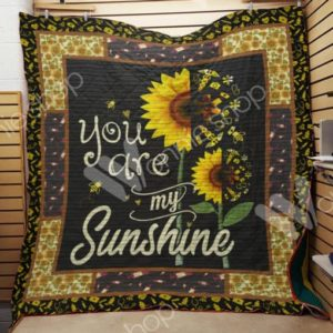 Nurse Sunflower Quilt Blanket