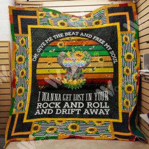 Elephant Hippie Quilt Blanket