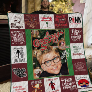 A Christmas Story Quilt Blanket For Fans Ver 17-2