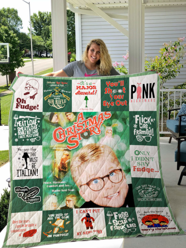 A Christmas Story Quilt Blanket For Fans Ver 17-1