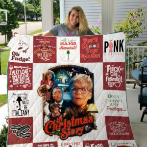 A Christmas Story Quilt Blanket For Fans Ver 17-3