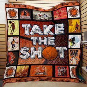 Basketball Quilt Blanket