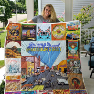 Grateful Dead Albums Quilt Blanket For Fans Ver 17