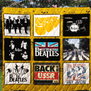 The Beatles Tshirt Quilt Blanket For Fans