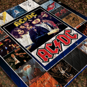 Ac/Dc Studio Albums Quilt Blanket