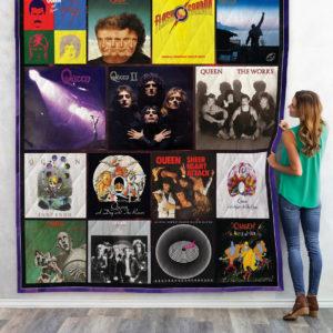 Queen Band Albums Quilt Blanket