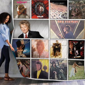Rod Stewart Quilt Blanket For Fans 01
