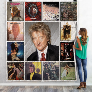 Rod Stewart Quilt Blanket For Fans 02