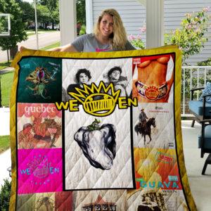 Ween Best Albums Quilt Blanket