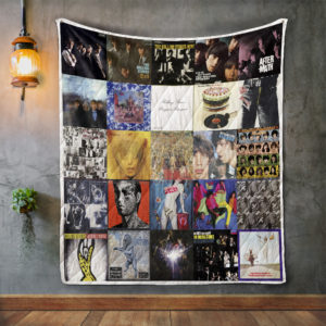 The Rolling Stones Style 2 Album Covers Quilt Blanket