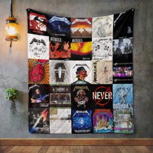 Metallica Style 2 Album Covers Quilt Blanket