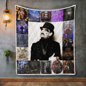 King Diamond 2 Album Covers Quilt Blanket