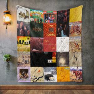 Poco 2 Album Covers Quilt Blanket