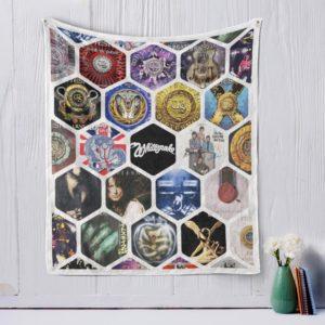 Whitesnake Two Quilt Blanket