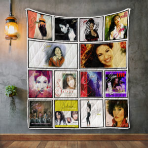 Selena Album Covers Quilt Blanket