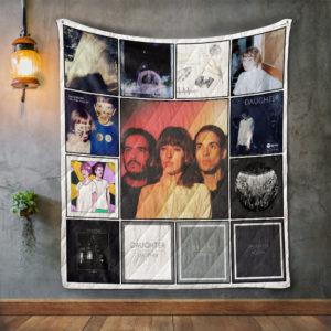 Daughter Album Covers Quilt Blanket