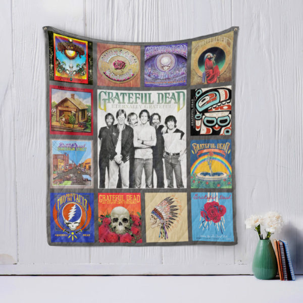 The Grateful Dead Quilt Blanket