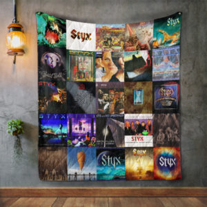 Styx Album Covers Quilt Blanket