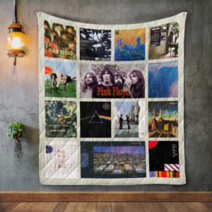 Pink Floyd Album Covers Quilt Blanket