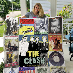 The Clash Style 3 Quilt Blanket
