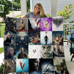 Vikings Quilt Blanket