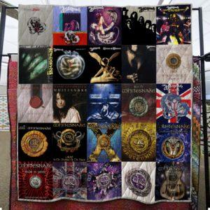 Whitesnake Full Quilt Blanket