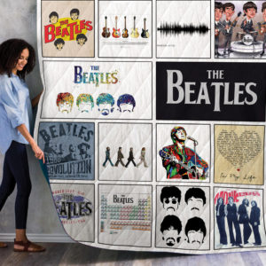 The Beatles Album Quilt Blanket 02