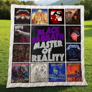 The Top Metal Albums Of All Time Quilt Blanket