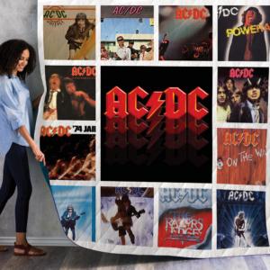 Ac/Dc Album Quilt Blanket 02