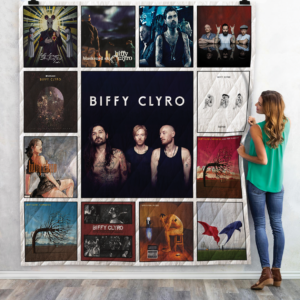 Biffy Clyro Best Albums Quilt Blanket For Fans