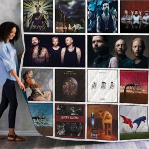 Biffy Clyro Best Albums Quilt Blanket