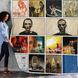 Biffy Clyro Singles Albums Quilt Blanket