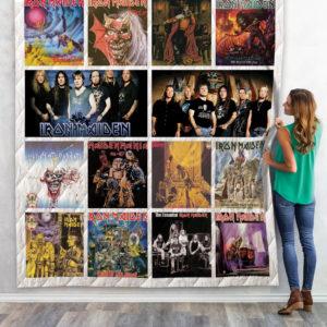 Iron Maiden Compilation Album Quilt Blanket 02