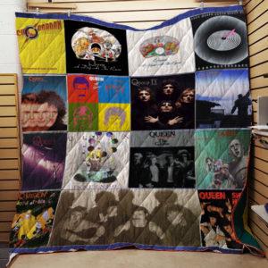 Queen Lp Albums Quilt Blanket