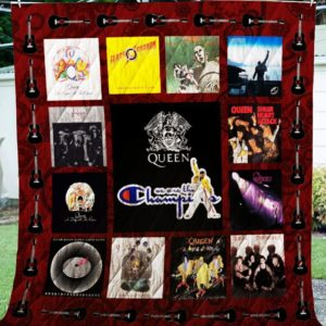 Queen We Are The Champions – Washable Handmade Cotton Quilt Blanket For Fans