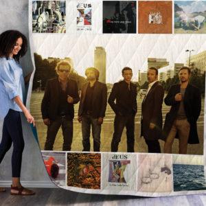Deus Album Quilt Blanket